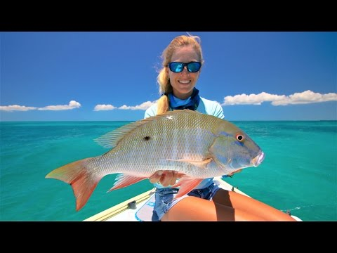Florida Keys Offshore Snapper Fishing ft. Tropical Drone Footage