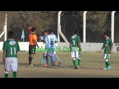 Liga Andalgalense de Futbol:_ Racing-Ferro partido suspendido por agresión al árbitro