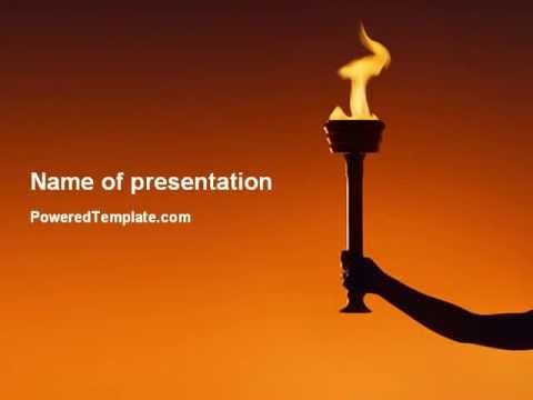 Olympic torch powerpoint template by poweredtemplate youtube olympic torch powerpoint template by poweredtemplate toneelgroepblik Choice Image