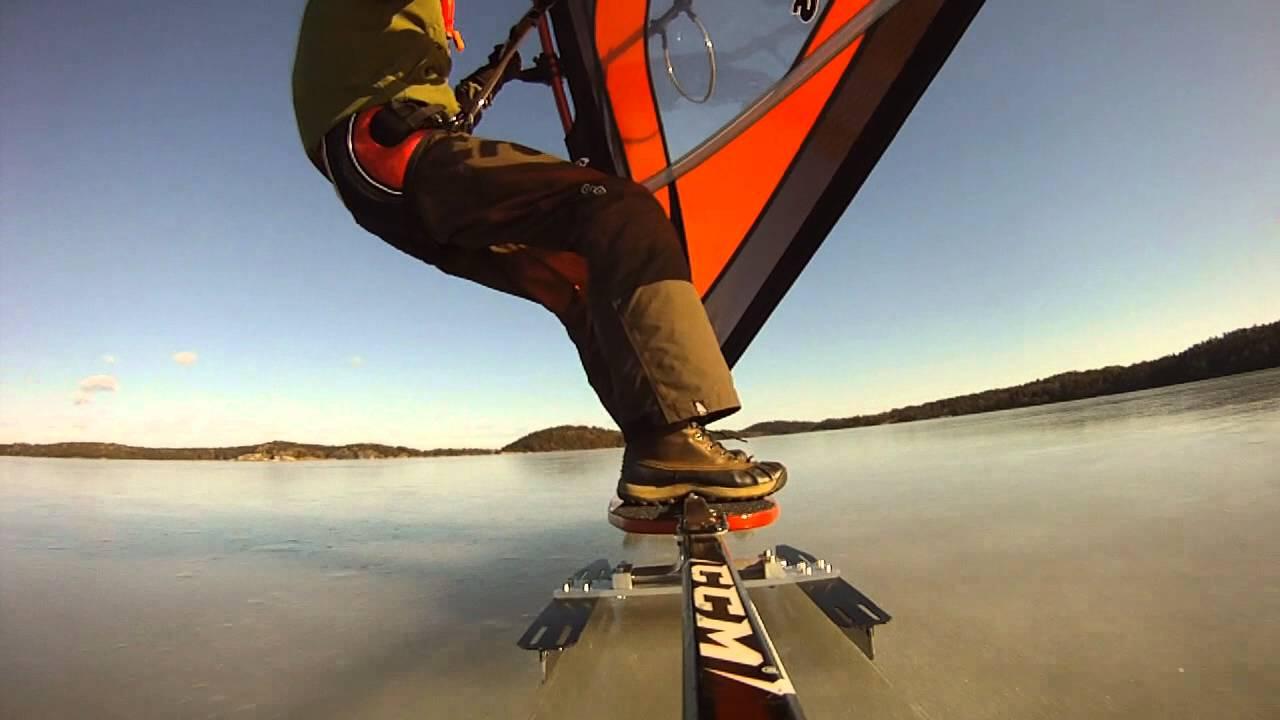 Ice Board DIY | Windsurfing board tests