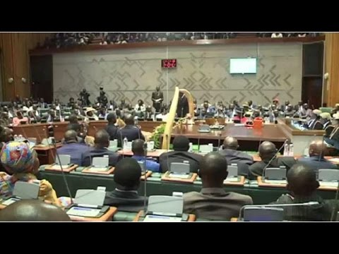 Zambia's finance minister presents $6.6bn budget to parliament