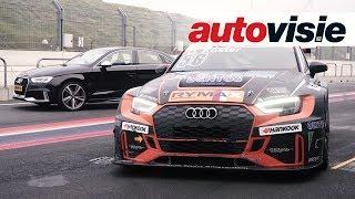 Knallen op Zandvoort met de Audi RS 3 en RS 3 TCR