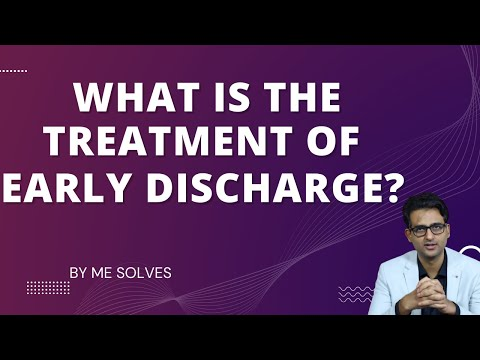 What is the correct treatment of Premature ejaculation (PME)? Early discharge treatment explained.