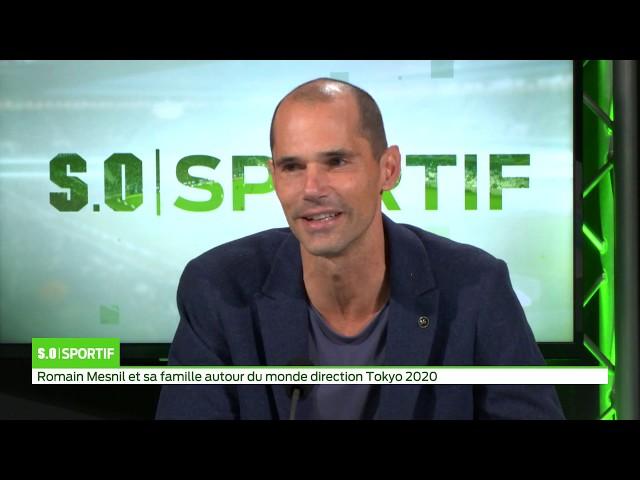 SO Sport   Romain Mesnil et sa famille autour du monde direction Tokyo 2020