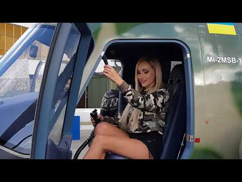 Intelligent Technology Pretty Girl Helicopter, UIA Flight Plane, Agriculture Cow Transport Hay Feed
