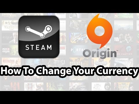 How To Change Your Currency Steam & Origin ( تغير العمله في