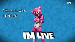 LIVE FORTNITE PS4 GAMEPLAY +TPS 105+SOLO WINS INDIAN STREAM GIVEAWAY ON 5K USUBS