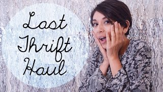 Last Thrift Haul of 2014! | The Fashion Citizen Thumbnail