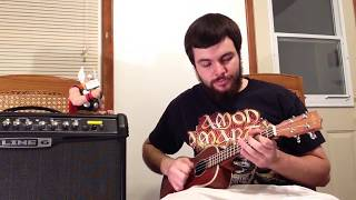 Amon Amarth - As Loke Falls (Electric Ukulele Cover)