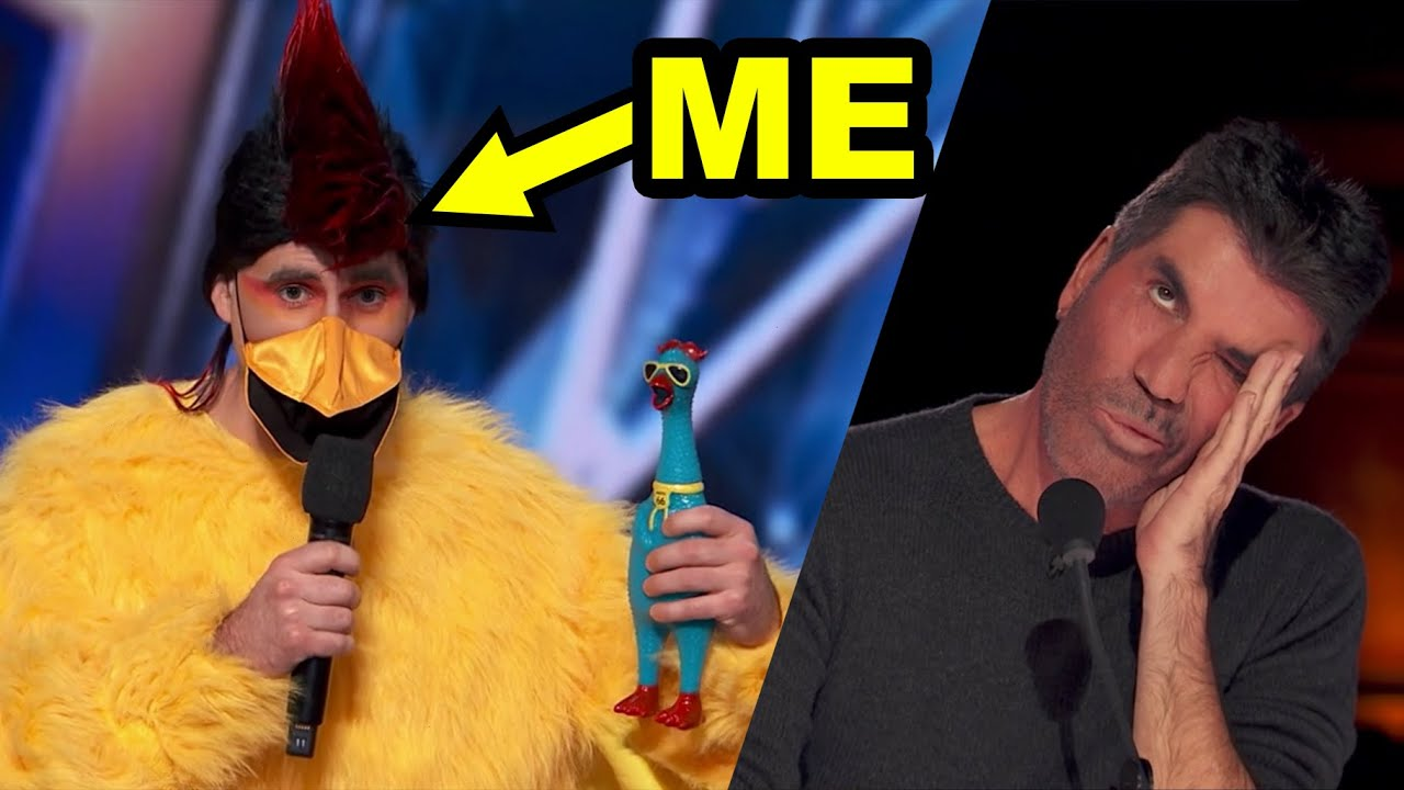 I went on America's Got Talent and TROLLED THE JUDGES (behind the scenes + audition vlog)