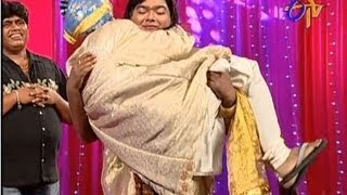 Jabardasth - Roller Raghu Performance on 4th April 2013
