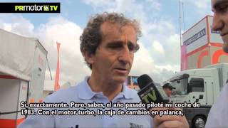 Entrevista a Alain Prost - 4 Campeonatos Formula Uno - World Series by Renault Montmelo - PRMotor TV