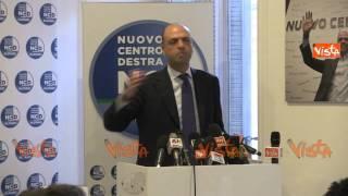 ALFANO: NOI DEL PARTITO MAI CON SALVINI - NCD VS LEGA NORD