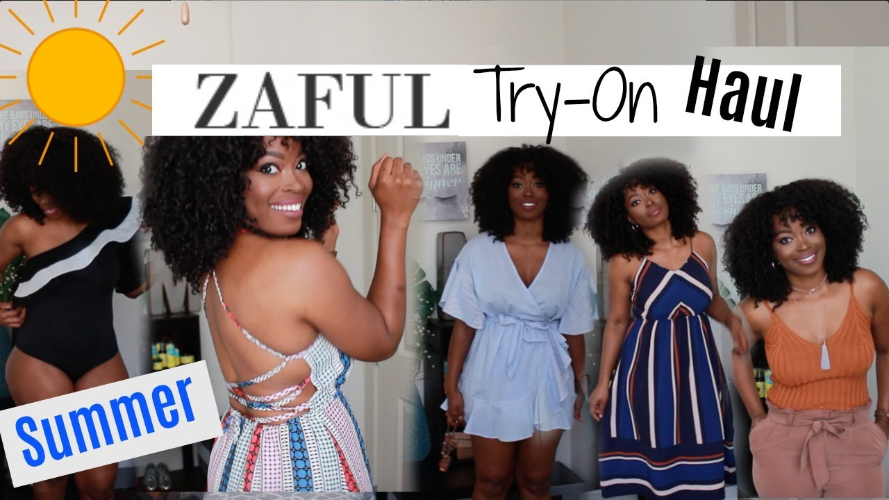 3a1a3b9f931 HUGE Zaful Try On Haul  Summer Fashion Ideas - YouTube