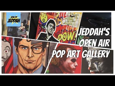 Jeddah's open air Pop-art Gallery