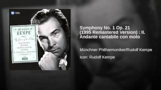 Symphony No. 1 Op. 21 (1995 Remastered Version) : II. Andante cantabile con moto