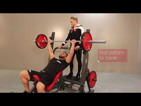 1HP205 - Super olympic inclined bench