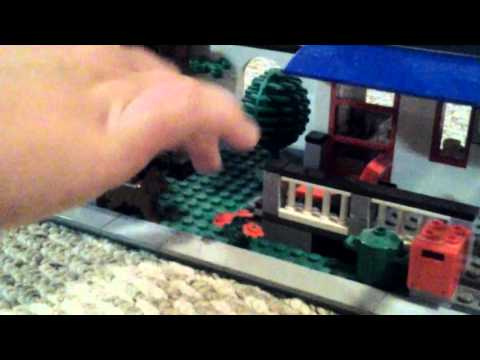 The lego city house