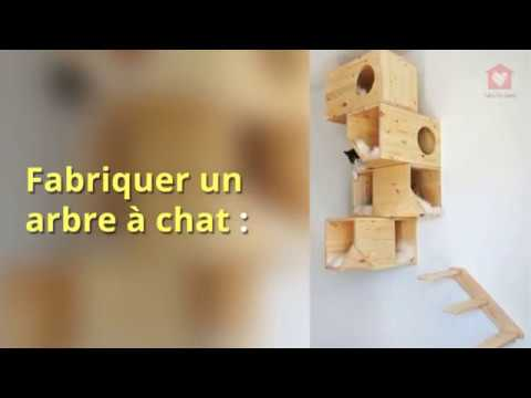 fabriquer un arbre a chat pas cher diy youtube. Black Bedroom Furniture Sets. Home Design Ideas