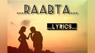 Raabta (Siyaah Raatein) Version With Lyrics ♥️