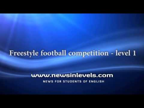 Freestyle football competition