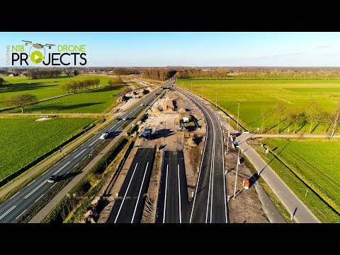 Opening eerste deel N18 - Drone Projects