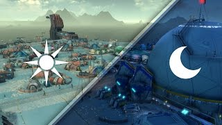 Anno 2205 | Day & Night Cycle / Tag- und Nachtwechsel in der Arktis
