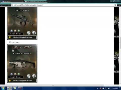 How to get free lotto weapons in Crossfire Philippines - YouTube