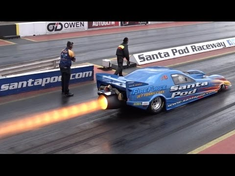 FireForce 3 Jet Car - 10000+ bhp - 1/4 mile 5.95