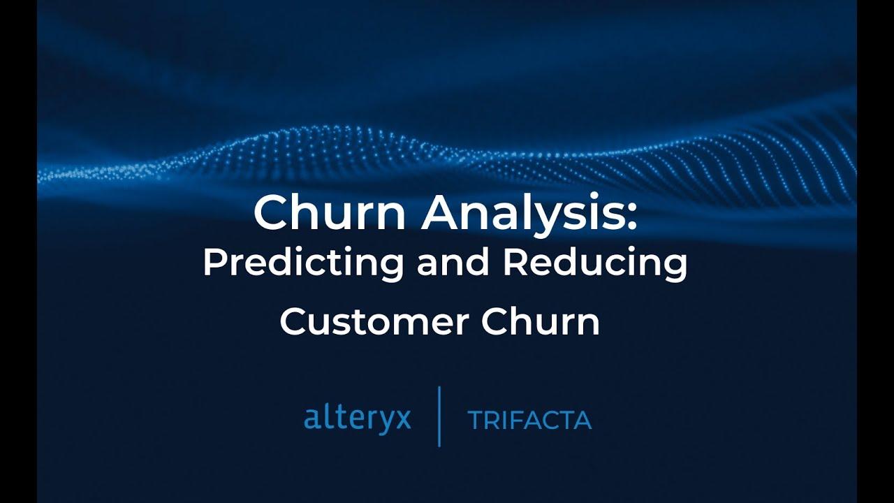 Churn Analysis: Predicting and Reducing Customer Churn