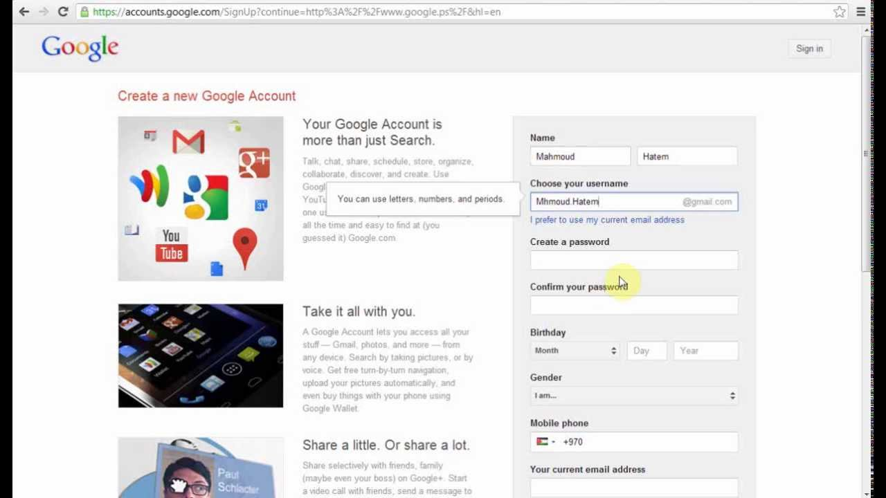 How To Create Google AdSense Account For Youtube Cahnnel - Mhmoud