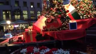 Model Train And Christmas Decorations
