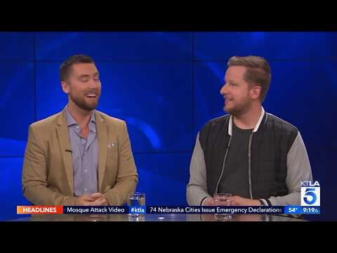 Lance Bass & Aaron Kunkel on the Unreal Con in their New Documentary