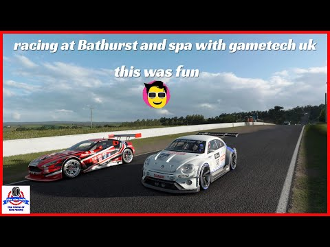 I Raced At Bathurst And Spa With Gametech Uk