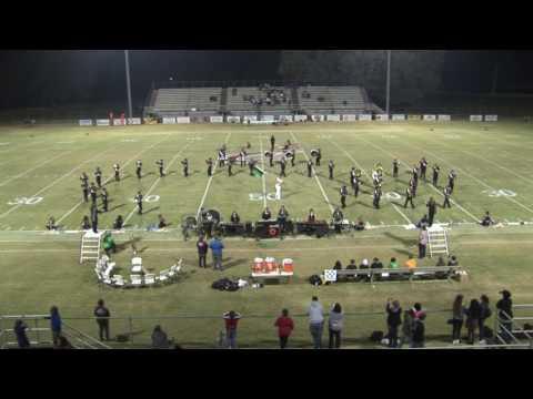 Crockett County High School Marching Band Oct. 13, 2016