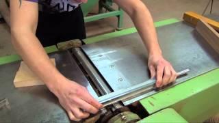 Установка ножів на фугувальний верстат та налаштування
