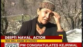 Emotional Deepti Naval talks about Farooq Shaikh