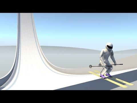 BeamNG.drive - SKI MAN