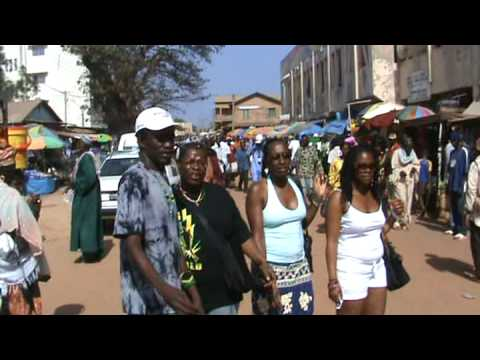 In Serrekunda Market, The Gambia - BossLadyInternational