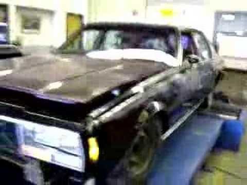 1978 chevy impala 383 stroker chassis dyno