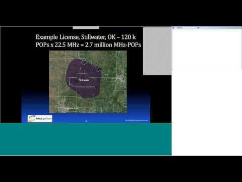 Licensed Broadband Spectrum Webinar