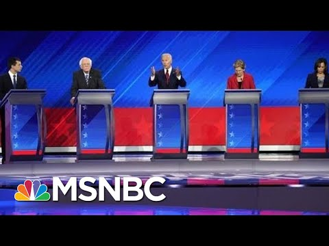 Democratic Candidates Focus Attacks On President Trump – The Day That Was | MSNBC