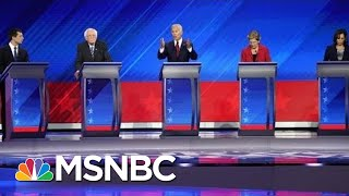 Democratic Candidates Focus Attacks On President Trump - The Day That Was | MSNBC