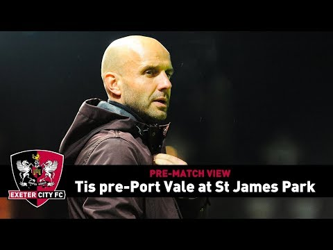 PRE-MATCH VIEW: Tis on Port Vale at St James Park   Exeter City Football Club