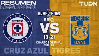 Resumen y goles | Cruz Azul (3) vs (2) Tigres | | Cuartos Vuelta Guard1anes 2020 Liga BBVA MX | TUDN