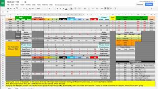 How to update an 18xx spreadsheet