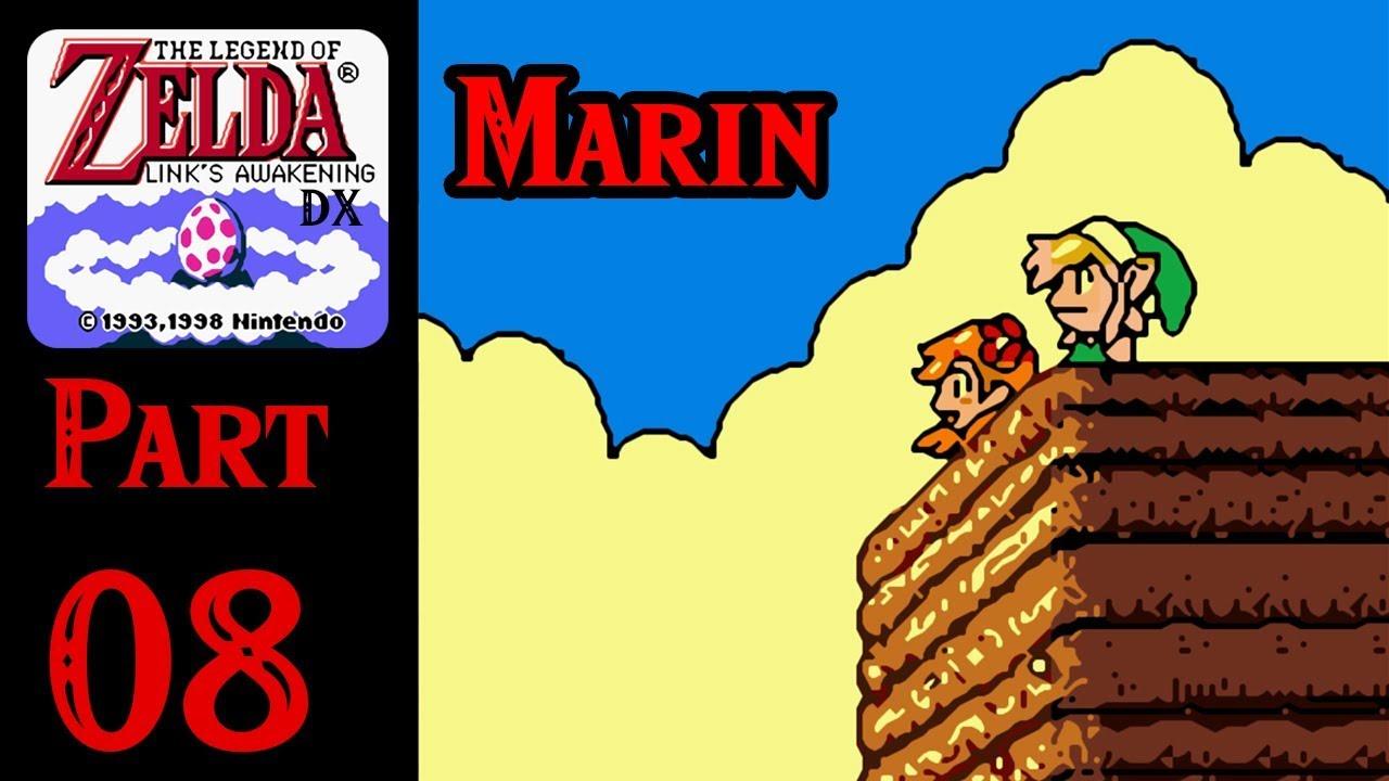 Zelda Links Awakening Dx 100 Walkthrough Part 8 Marin