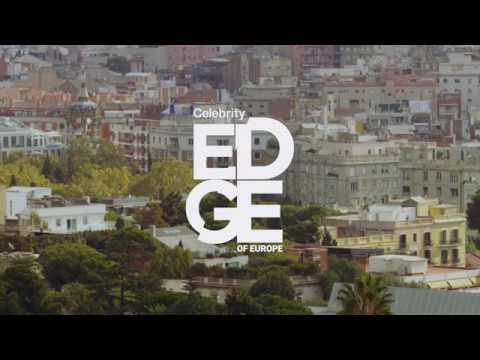 Waiting for the Celebrity Edge on Europe - Barcelona