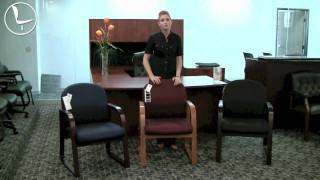 Boss Sled Base Guest & Reception Office Chairs