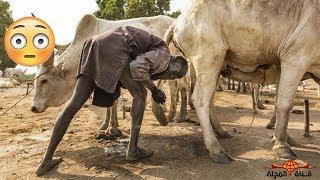 الاستحمام ببول البقر - حقائق غريبه عن جنوب السودان والقبائل التي تسكن حول النهر